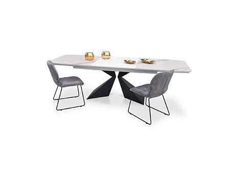 Stół a2 na metalowej czarnej nodze, na zamówienie polski producent