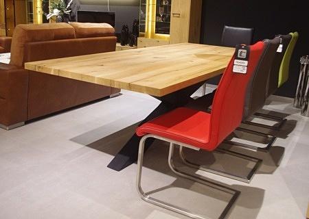 Stół do salonu nierozkładany dębowy