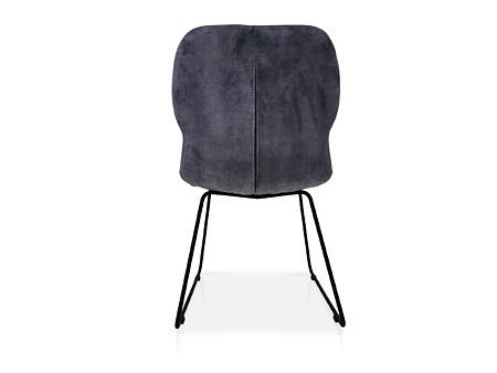 Krzesło tapicerowane w materiale odpornym na plamy nowoczesne wygodne