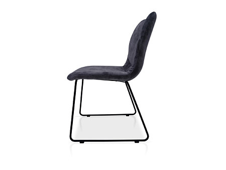 Krzesło TC do nowoczesnej jadalni w tkaninie odpornej na zabrudzenia