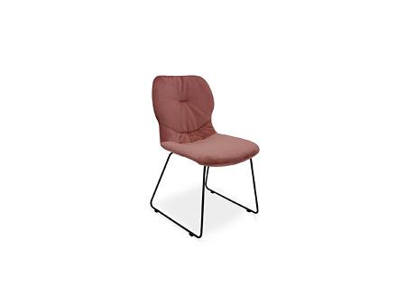 Wygodne i stabilne krzesło styl loft minimalizm