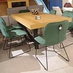 Krzesła do jadalni w stylu industrialnym