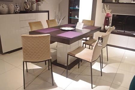 Krzesła do jadalni z materiału
