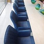 Krzesła pikowane oparcia