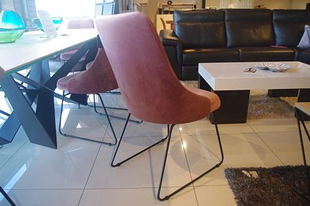 Krzesła róż