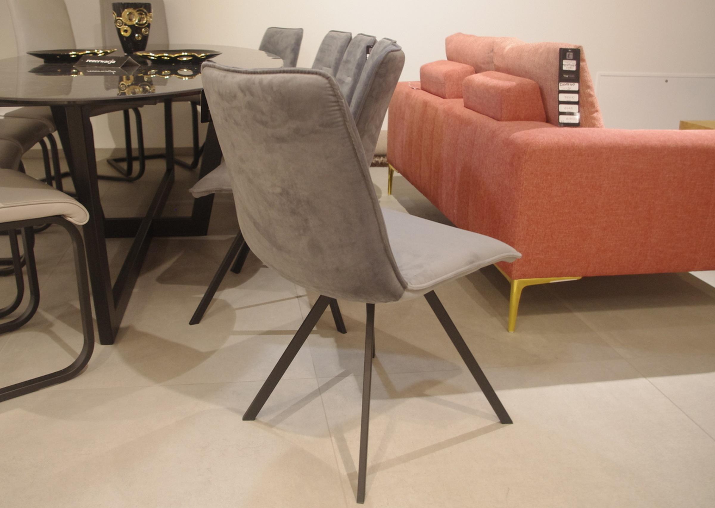Krzesło na nogach metalowych loft