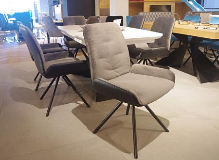 Krzesło TC K06 szaro czarne loftowe