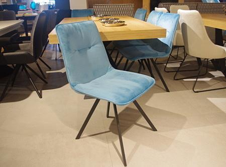 Krzesło TC K09 niebieskie