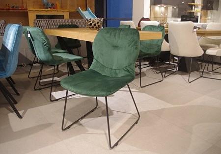 Krzesło zielone tc k12 nowoczesne