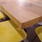 Lite drewno dębowe blat stołu