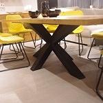 Stół do salonu loftowy czarny