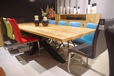 Stół loftowy bazalt industria