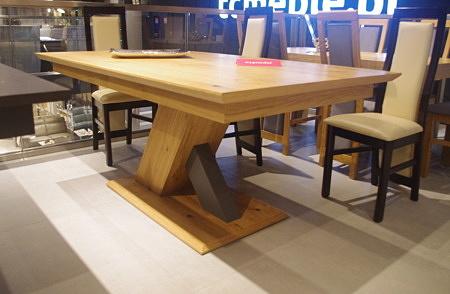 Stół sydney do salonu na dwóch nogach