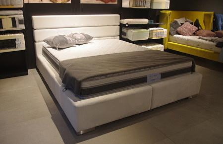 łóżko Hugo nowoczesne tapicerowane