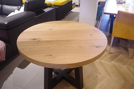 Stół okrągły dębowy
