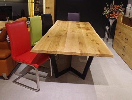 Blat stołu z naturalną krawędzią oflis