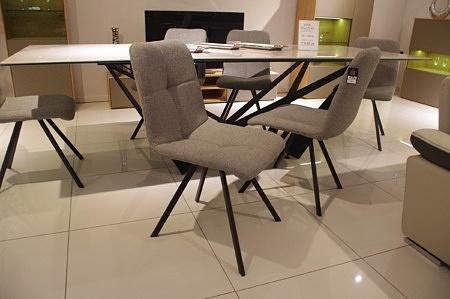 Krzesło TC k09C szary materiał