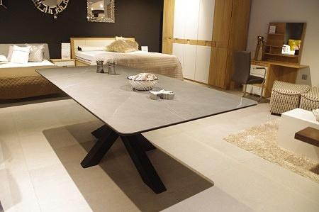 Stół bazalt nierozkładany