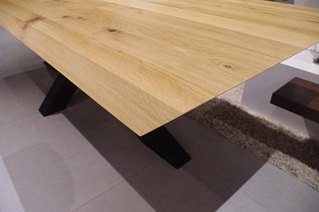 Stół dębowy ścięty