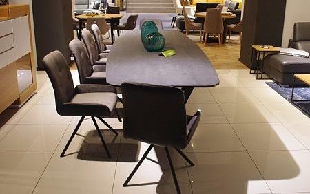 Stół w kształcie beczki spiek laminam italy