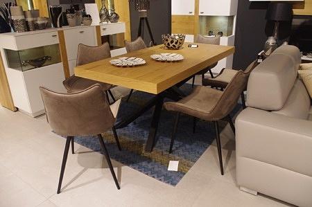 Zestaw krzeseł loftowych