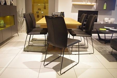 Krzesło industrialne czarne