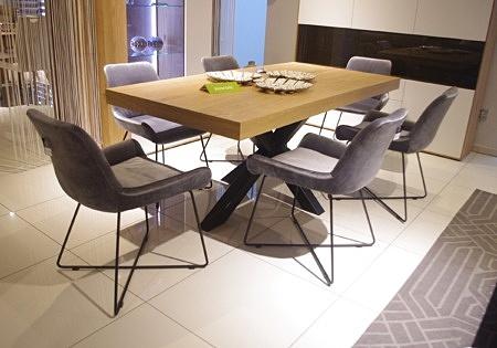 Krzesło K11 loftowe 'nowoczesne szare