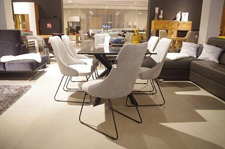 Krzesło szare loft aksamit