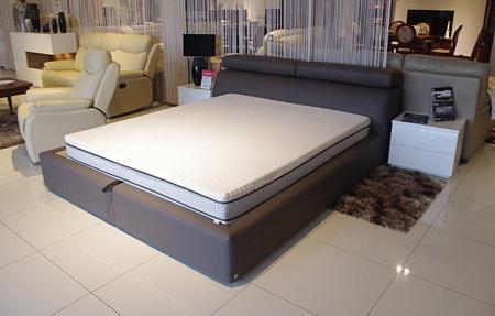 łóżko nowoczesne loftowe industrialne