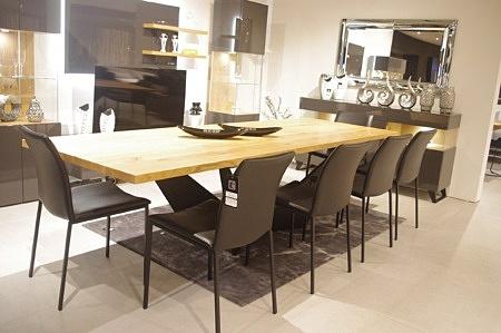 Stół Cliv lite drewno dębowe