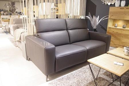 Sofa 3-os szara styl industrialny