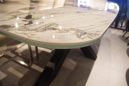 Stół spiek kwarcowy etolie sypmhonie poler
