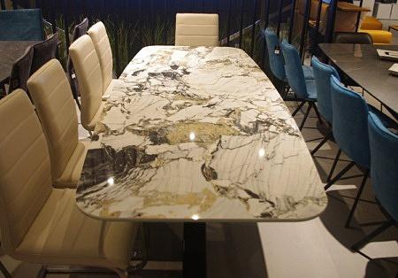 Stół ze spieku nierozkładany beczka