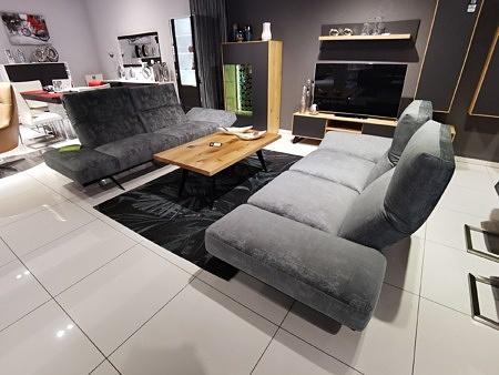 Komplet wypoczynkowy do nowoczesnego wnętrza salonu cleo