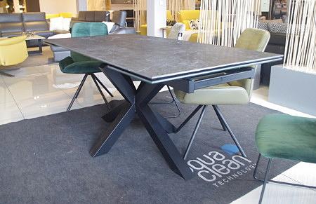 Stół rozkładany do salonu kwarc