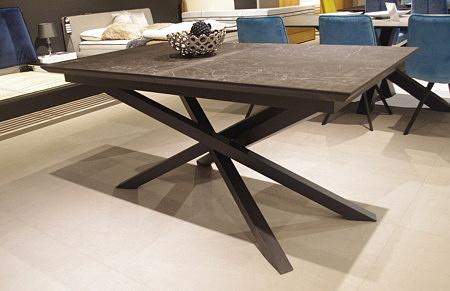 Stół z blatem rozkładanym spiek kwarcowy