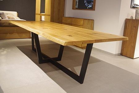 Stół dębowy Amari blat lite drewno