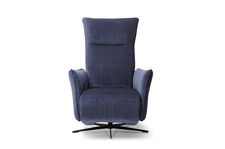 Niebieski fotel